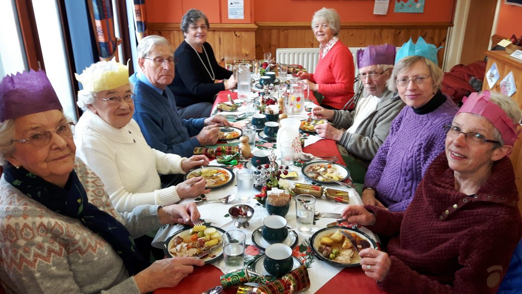 Pensioners Lunch Club Christmas Meal